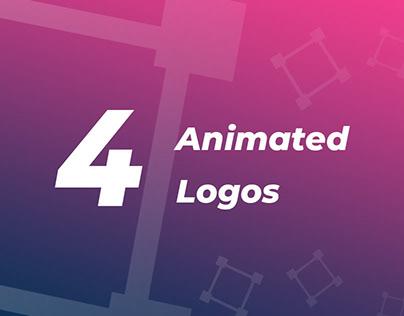 Just 4 animated logos
