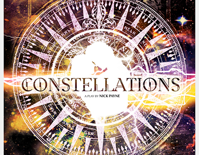 "Poster for Theater Play ""Constellations"""