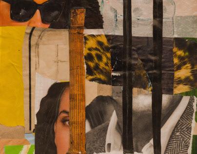 Locked up city // Collage