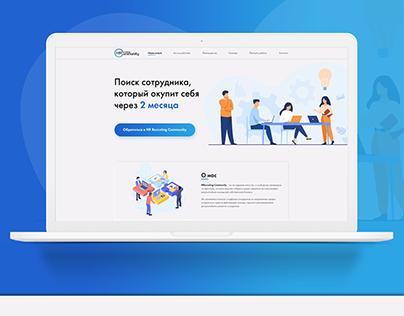 Landing Page HR Community