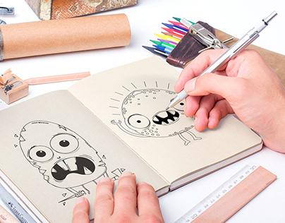 Creación de personajes | Odontopediatría.