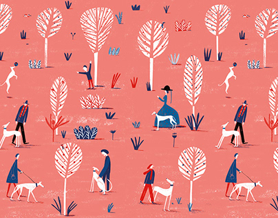 Pattern Illustration Sacoor Brothers