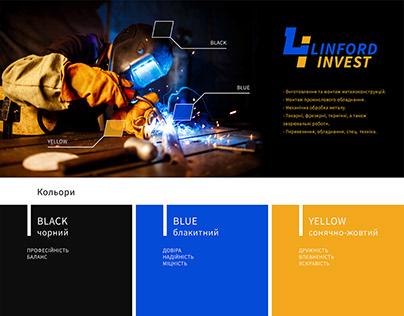 Linford invest. vol 4. Logo & identity.