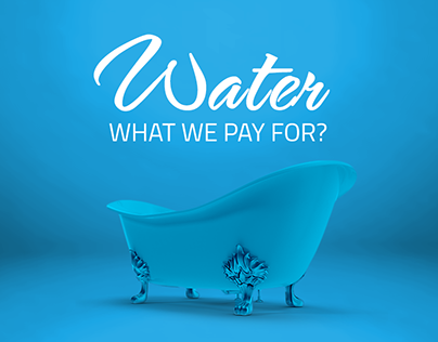 water: what you pay for