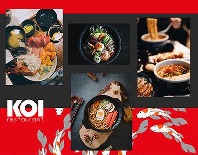 KOI, Japanese Restaurant Branding