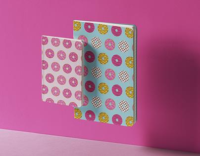 Donuts Seamless Patterns