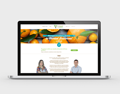 Emprende con Salud - Wordpress site