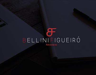 criação de marca e site: Bellini Figueiró