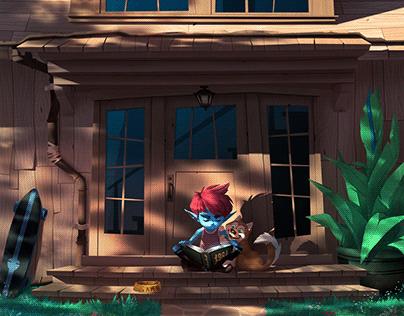 Funky Boy's home (daylight version)