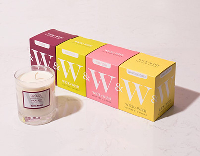 Harvey Norman - Scented Candles - Naming and Packaging