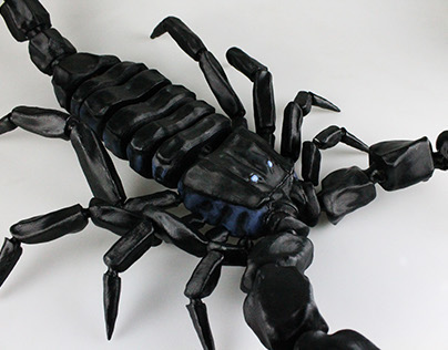 Scorpion articulated figure