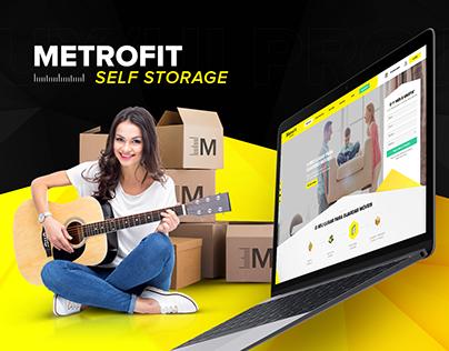 UX/UI - MetroFit Self Storage