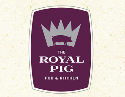 Royal Pig Pub Menu
