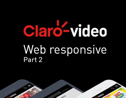 Claro video - Web responsive - Part 2
