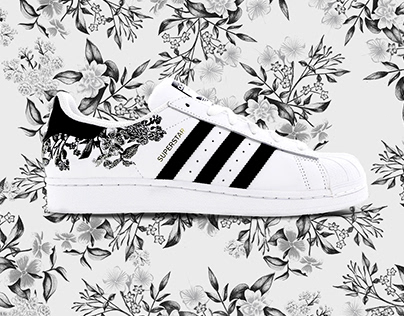 ADIDAS ORIGINALS /// FLORAL PATTERNS