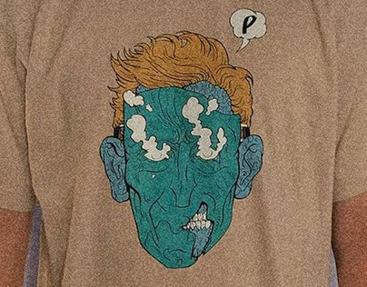 T-Shirt design for Pomimo