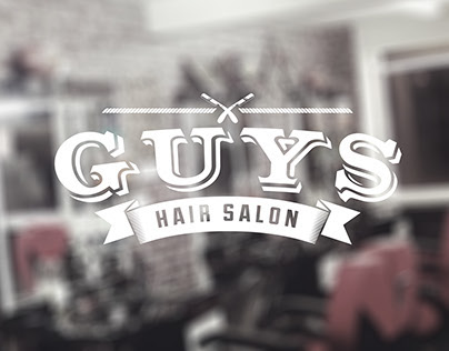 Guy's Hair Salon Logo | Wall Illustration