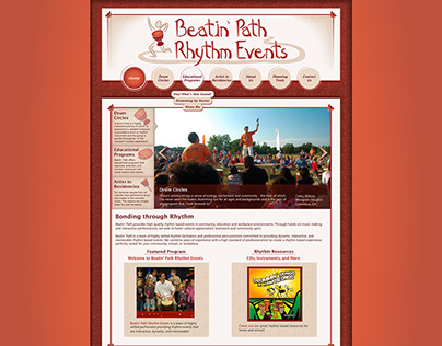 Beatin' Path - Website Redesign