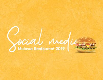 Social Media Mulawe Restaurant