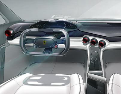 Ferrari 2027 Interior Concept