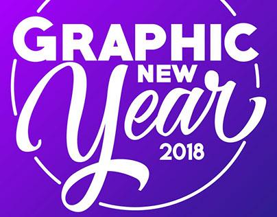 Graphic New Year 2018 !