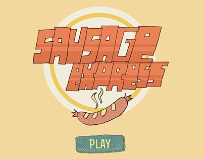 Sausage express game art
