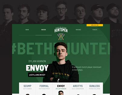 Chicago Huntsmen Tickets Website