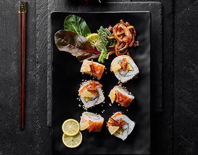 AMA Sushi Menu | Food Photography