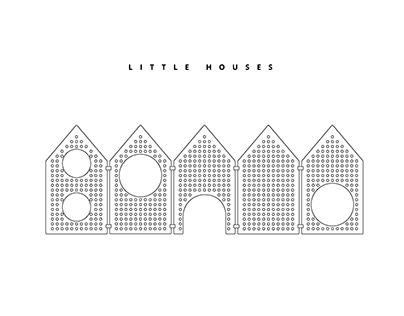 Little houses - sensory space divider
