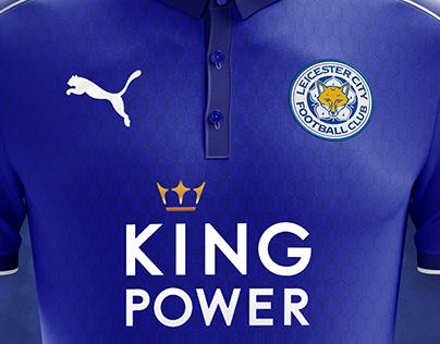 Leicester City FC Home Kit Design