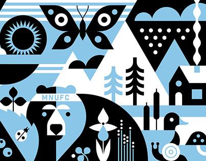 Minnesota United Mural
