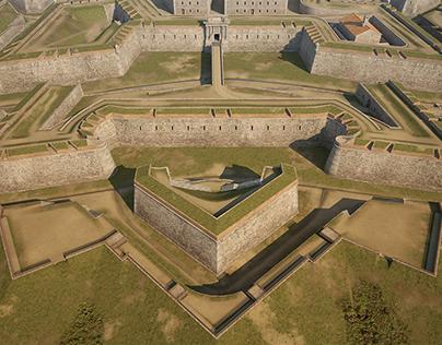 Sant Ferran fortress, XVIII century