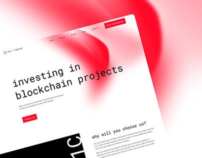 Fintech Logo & Web Design | Part One Capital