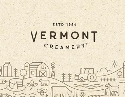 Vermont Creamery Illustrations