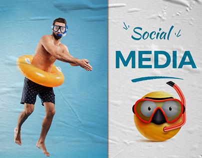 Chalet social media