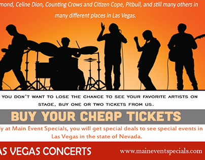 upcoming concerts Las Vegas