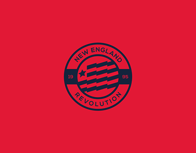 New England Revolution | Logo rebranding idea