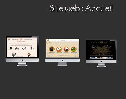 Sites Web : les pages d'accueil