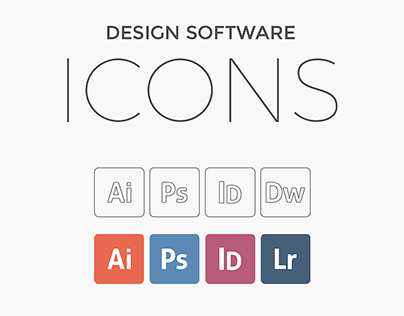 Free Design Software Icons