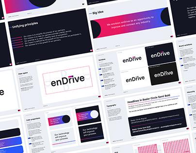 enDrive - Branding   UX/UI