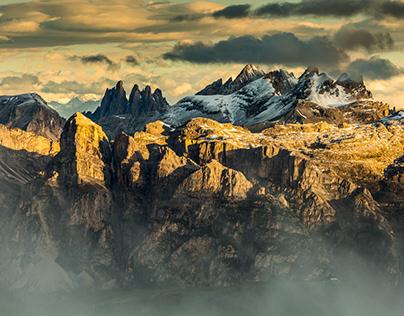 Lagazuoi. Dolomites. Italy