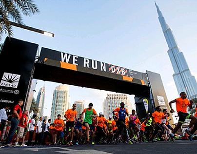 NIKE We Run Dubai DXB Retail space.