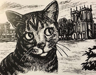 Cat in the Cathedral