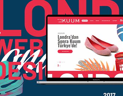 Kuum Shoes Web Design