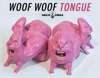 WOOF WOOF TONGUE