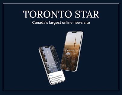 Toronto Star   Redesign