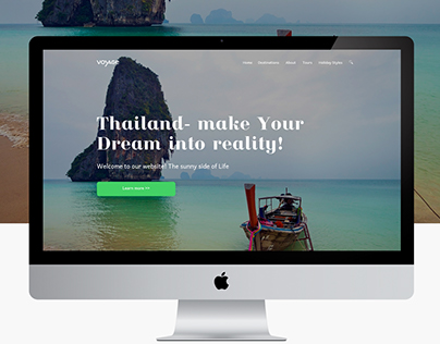 Landing page Thailand