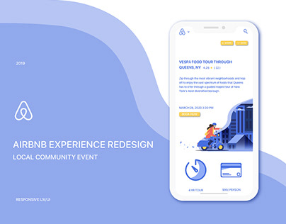 Airbnb Experience: Responsive Redesign