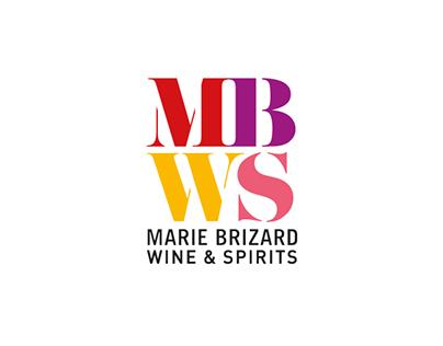 Marie Brizard Wine & Spirits. Logo design.