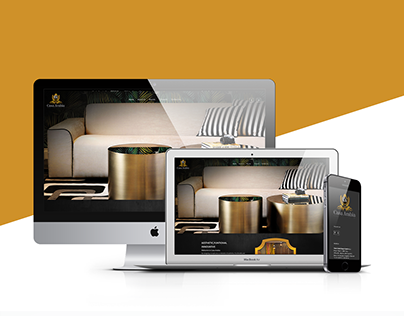Casa Arabia - Design Studio Web Design